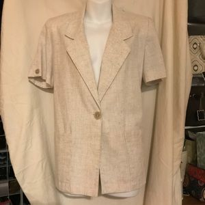 Sag Harbor 8p short sleeve jacket